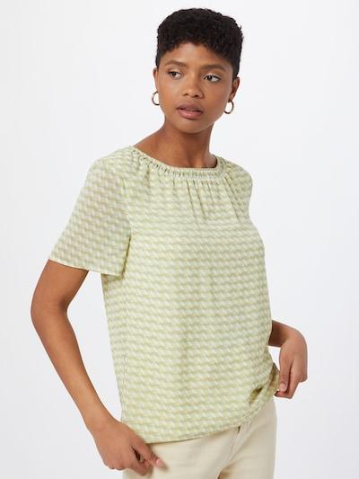 Ci comma casual identity Bluse in gelb / grün / weiß, Modelansicht