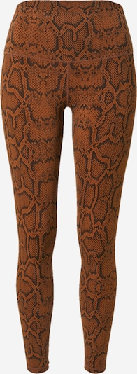 Varley Leggings 'Luna' in karamell / schwarz, Produktansicht