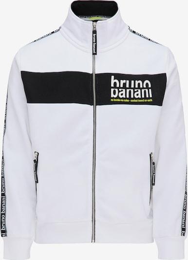 BRUNO BANANI Sweatvest in de kleur Wit, Productweergave