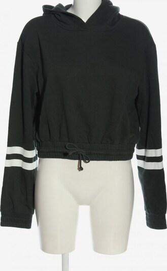 H&M Sweatshirt in L in schwarz / wollweiß, Produktansicht