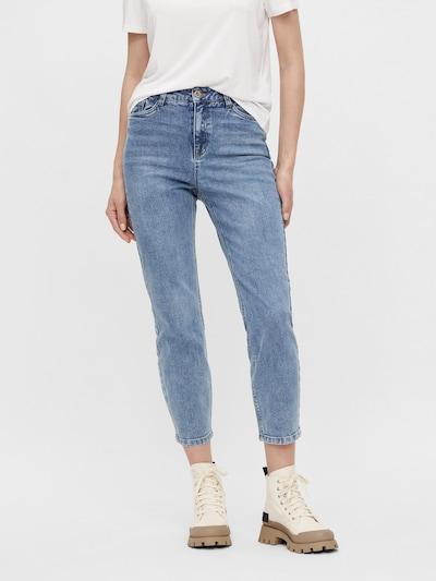 OBJECT Jeans 'Alora' in blue denim, Modelansicht