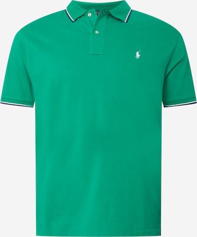Polo Ralph Lauren Big & Tall T-Shirt en bleu nuit / vert gazon / blanc, Vue avec produit