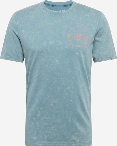 UNDER ARMOUR Funktionsshirt in pastellblau / orange, Produktansicht