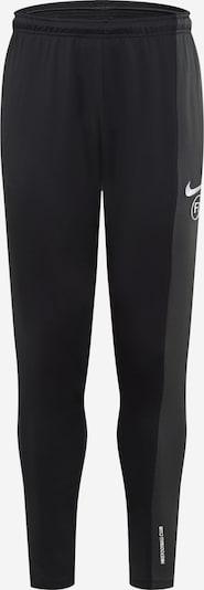 NIKE Športne hlače | temno siva / črna / bela barva, Prikaz izdelka