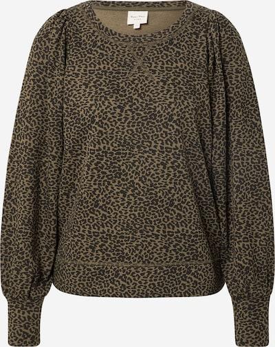 Part Two Sweatshirt 'Gisa' in khaki / schwarz, Produktansicht