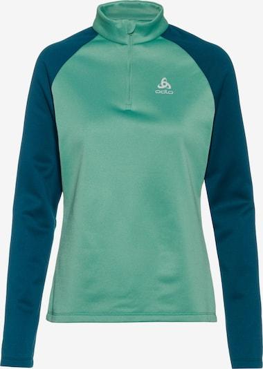 ODLO Shirt 'PLANCHES' in nachtblau / mint, Produktansicht
