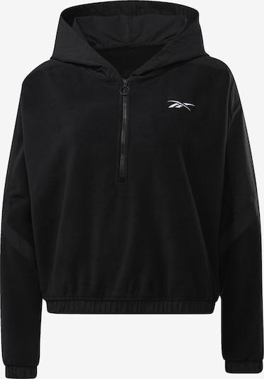REEBOK Sporttrui in de kleur Zwart / Wit, Productweergave