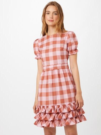 Rochie Trendyol pe roz / roz pal / roșu, Vizualizare model