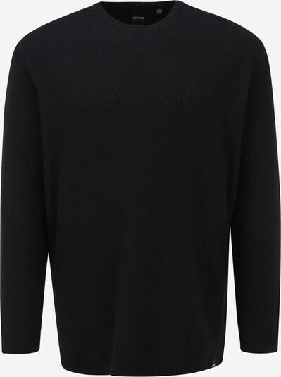 Only & Sons Big & Tall Pullover 'DAN' in schwarz, Produktansicht