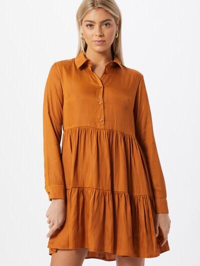 NU-IN Kleid in orange, Modelansicht