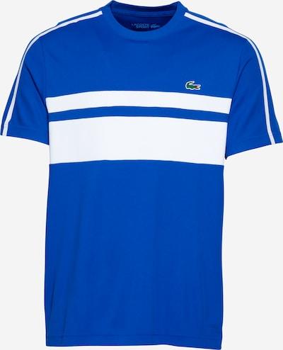 Lacoste Sport T-Shirt fonctionnel en bleu / blanc, Vue avec produit