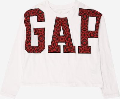 GAP Shirt in rot / schwarz / weiß, Produktansicht