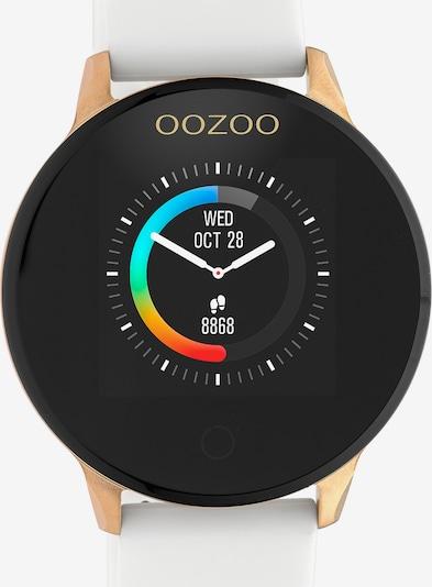 OOZOO Smartwatch in rosegold / schwarz / weiß, Produktansicht