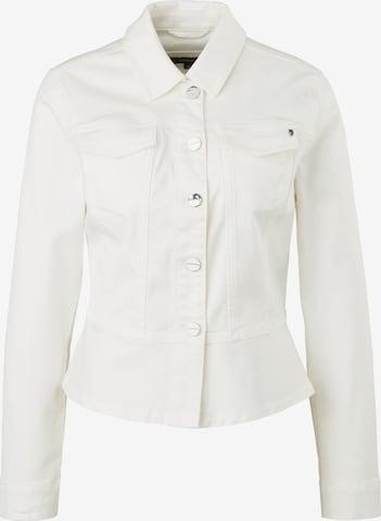 COMMA Between-Season Jacket in White