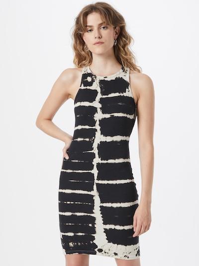 Rochie 'Stella' WEEKDAY pe ecru / negru, Vizualizare model