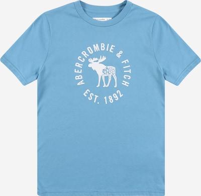 Abercrombie & Fitch Shirt in blau / weiß, Produktansicht