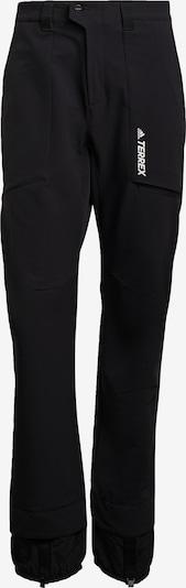 adidas Terrex Softshellhose in schwarz / weiß, Produktansicht