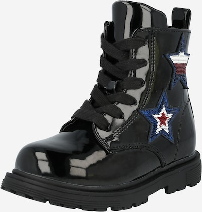 TOMMY HILFIGER Boot in blue / red / black / white, Item view
