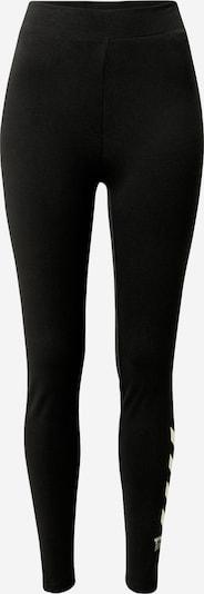 Hummel Sport-Hose in nude / schwarz, Produktansicht