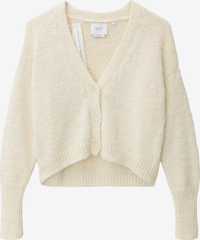 Marc O'Polo Pure Gebreid vest in de kleur Wit, Productweergave