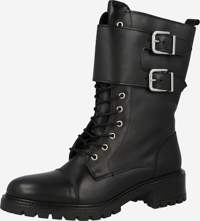 Y.A.S Lace-Up Boots in Black, Item view