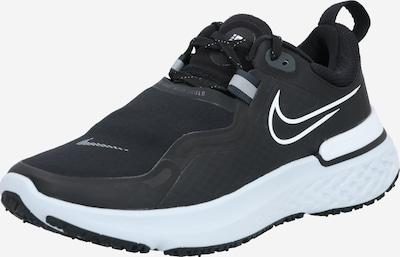 NIKE Chaussure de course 'React Miler Shield' en noir / blanc, Vue avec produit
