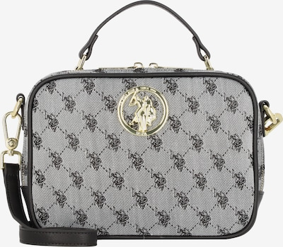 U.S. POLO ASSN. Handtasche in gold / grau / schwarz, Produktansicht