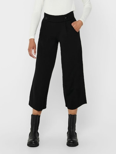 JACQUELINE de YONG Pleat-front trousers 'JDYGEGGO' in black, View model