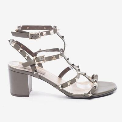 VALENTINO Sandaletten in 39,5 in oliv, Produktansicht