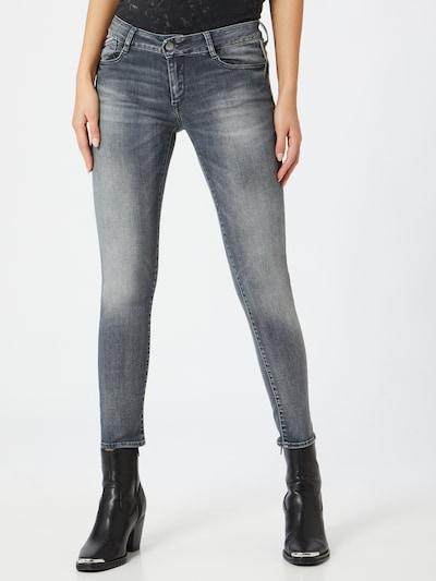 Le Temps Des Cerises Jeans 'PULPC' in grey denim, Modelansicht