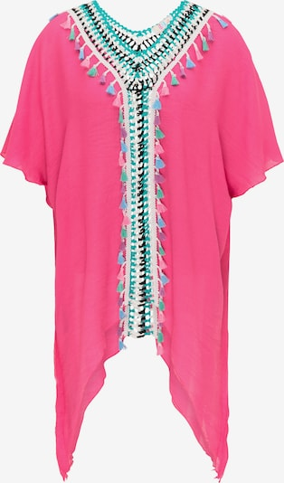 IZIA Tunika w kolorze beżowy / jasnoniebieski / nefryt / różowy / różowy pudrowym, Podgląd produktu