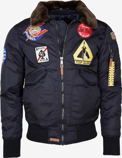 TOP GUN Jacke in navy / mischfarben, Produktansicht