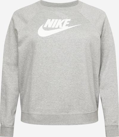 Nike Sportswear Sweatshirt in mottled grey / White, Item view