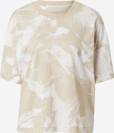 Reebok Sport Koszulka funkcyjna w kolorze camel / białym, Podgląd produktu