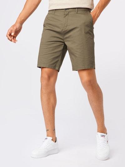 SCOTCH & SODA Pantalon chino 'STUART' en kaki, Vue avec modèle