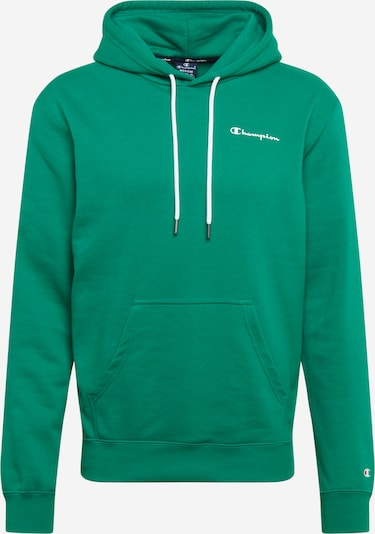 Bluză de molton Champion Authentic Athletic Apparel pe verde smarald / alb, Vizualizare produs