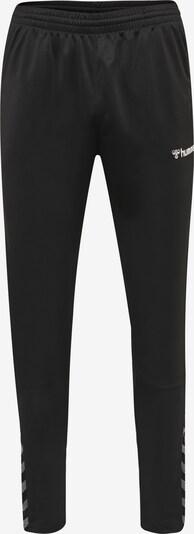 Hummel Hose in graumeliert / schwarz / weiß, Produktansicht