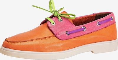 INUOVO Mocassins in de kleur Lichtgroen / Lila / Sinaasappel / Pink, Productweergave