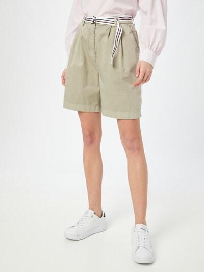 TOMMY HILFIGER Kalhoty se sklady v pase - velbloudí, Model/ka