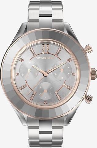 Swarovski Analog Watch in Silver