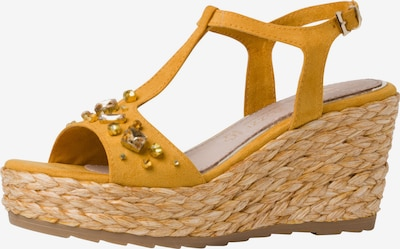 MARCO TOZZI by GUIDO MARIA KRETSCHMER Sandale in safran / gold, Produktansicht