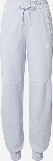 ADIDAS PERFORMANCE Спортен панталон в светлосиньо / бяло, Преглед на продукта