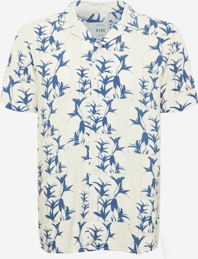 Redefined Rebel Hemd 'Joe' in taubenblau / weiß, Produktansicht