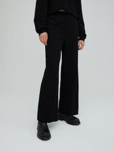 EDITED Hose 'Sylvia' in schwarz, Modelansicht