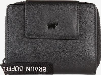 Braun Büffel Portemonnaie 'Capri' in schwarz, Produktansicht
