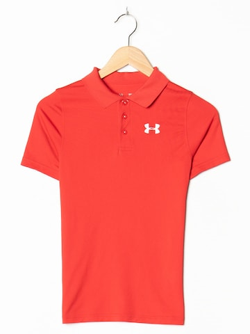 UNDER ARMOUR Polohemd in S in Rot