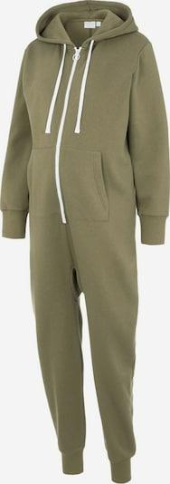 MAMALICIOUS Jumpsuit in grün / weiß, Produktansicht
