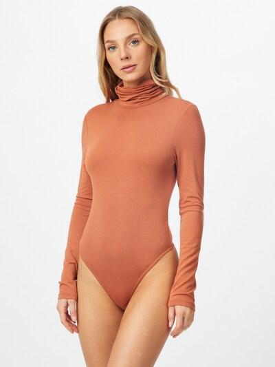 Missguided Košeľové body - oranžová: Pohľad spredu