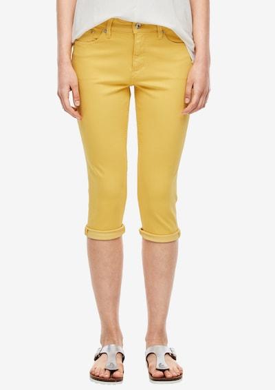 s.Oliver Jeans in de kleur Geel, Modelweergave