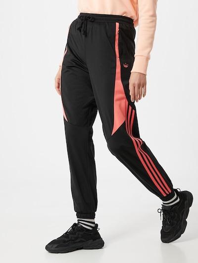 ADIDAS ORIGINALS Sporta bikses rozā / melns, Modeļa skats